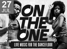 On The One – Live music for the dancefloor