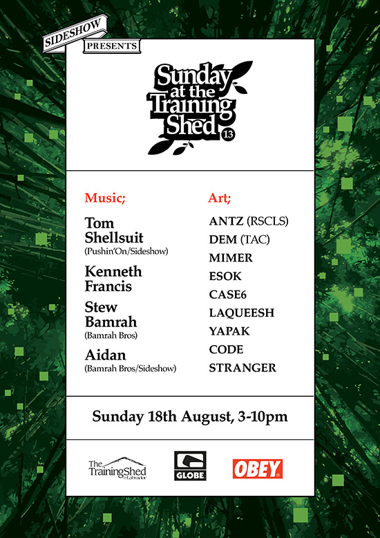 Sunday at the Training Shed 13