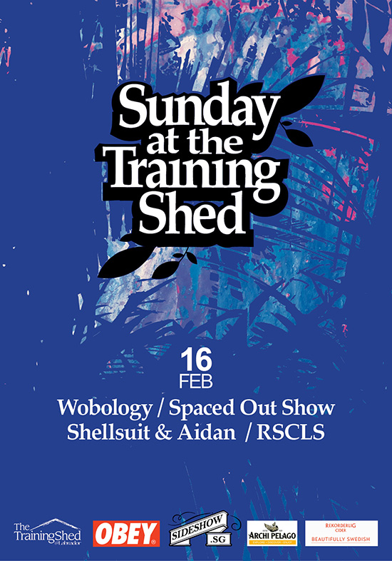 Sunday at the Training Shed 16