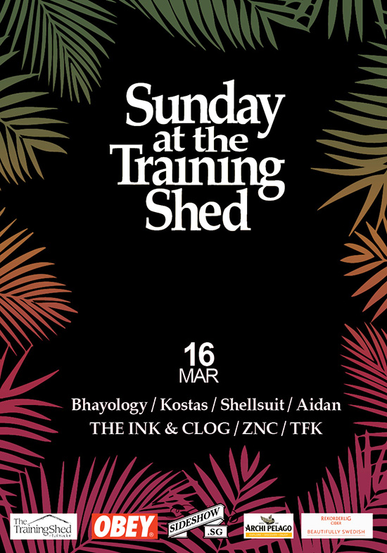 Sunday at the Training Shed 17