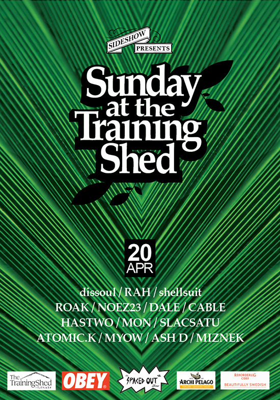 Sunday at the Training Shed 18