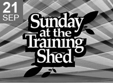 Sunday at the Training Shed 23