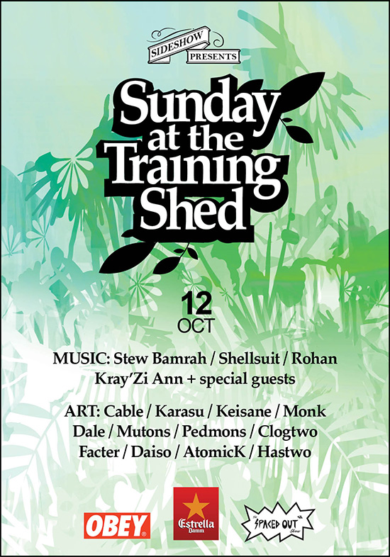 Sunday at the Training Shed 24