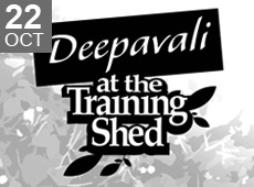 Deepavali at the Training Shed