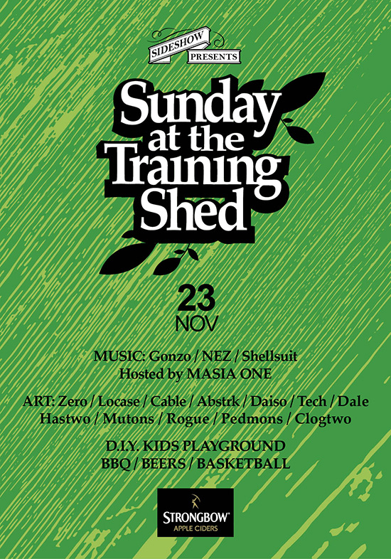 Sunday at the Training Shed 25