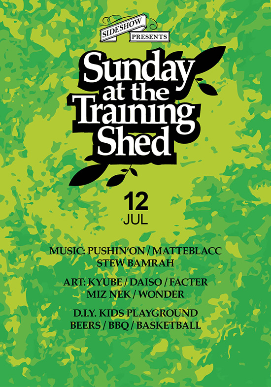 Sunday at the Training Shed 31
