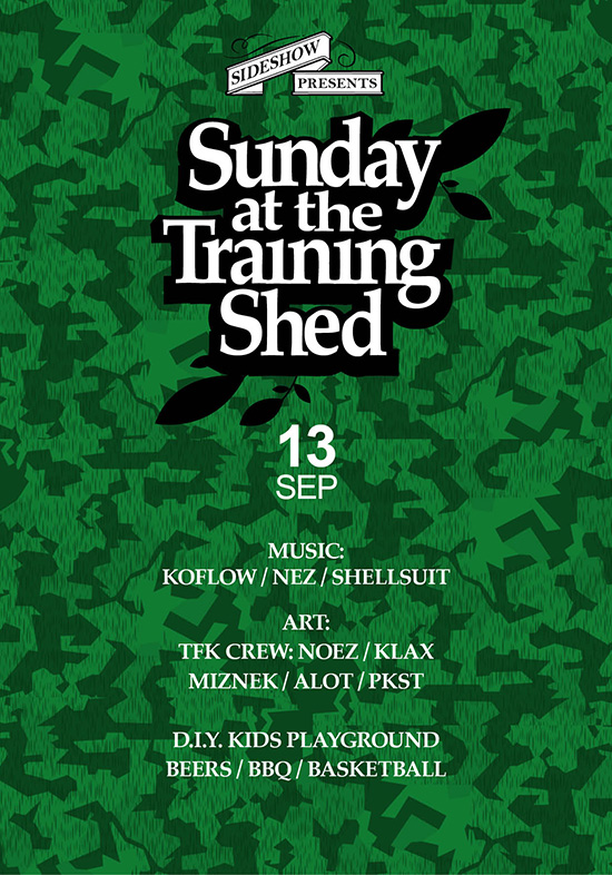 Sunday at the Training Shed 33