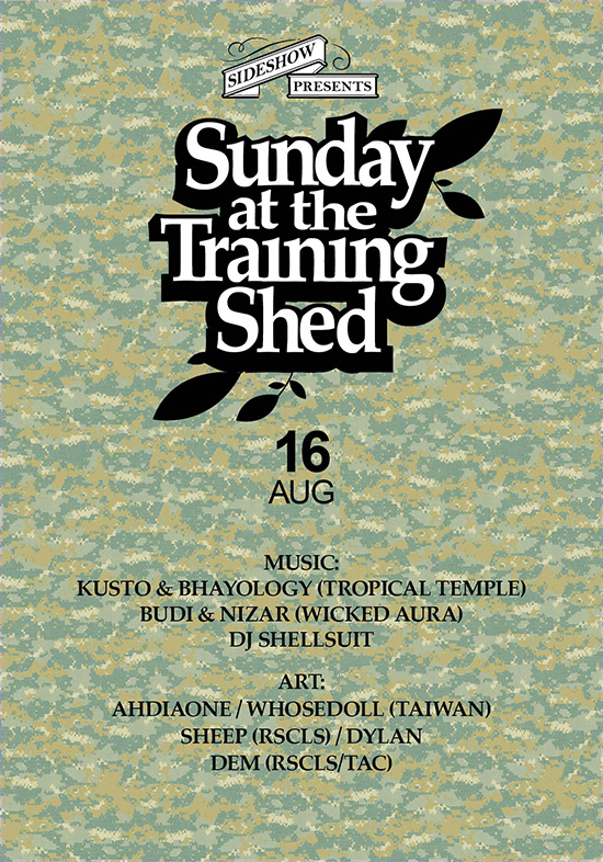 Sunday at the Training Shed 32