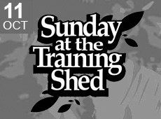 Sunday at the training Shed 34