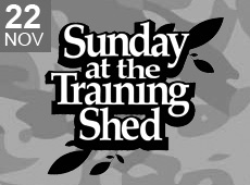 Sunday at the Training Shed 35