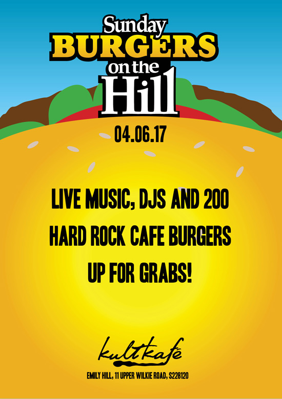 SUNDAY BURGERS ON THE HILL