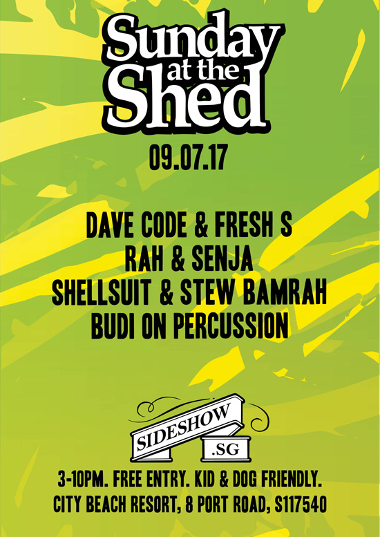 SUNDAY AT THE SHED