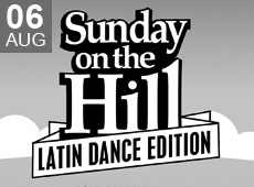 SUNDAY ON THE HILL – LATIN DANCE EDITION